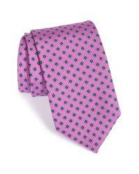 JZ Richards - Purple Medallion Silk Tie for Men - Lyst