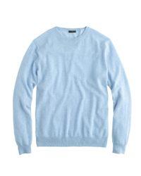 J.Crew - Blue Collection Cashmere Boyfriend Sweater - Lyst