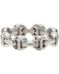 Hoorsenbuhs | Metallic Dame Tri-link Ring | Lyst
