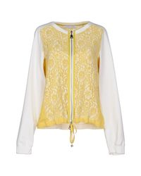 Caractere - Yellow Sweatshirt - Lyst