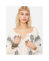 Denim & Supply Ralph Lauren - Natural Embroidered Peasant Dress - Lyst