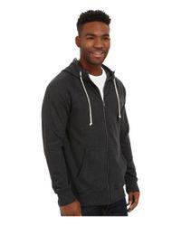 Volcom | Black Pulli Zip for Men | Lyst