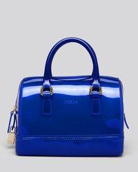 Furla - Blue Baby Candy Satchel - Lyst