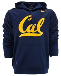 Nike - Blue Men'S California Golden Bears Therma-Fit Hoodie for Men - Lyst