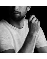 David Yurman | Metallic Band Ring for Men | Lyst