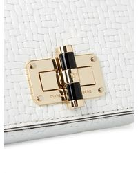 Diane von Furstenberg - White 440 Gallery Bellini Cross-Body Bag - Lyst