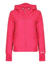 Bench Pink One Timer 2-In-1 Hooded Bomber Jacket
