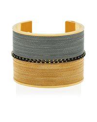Henri Bendel - Metallic Hudson Slinky Cuff - Lyst