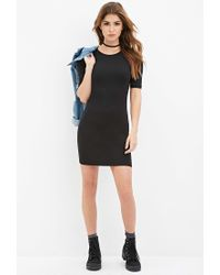 Forever 21 | Black Classic Bodycon Dress | Lyst