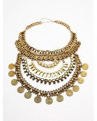 Noir Jewelry | Metallic Xavier Statement Collar | Lyst
