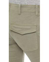 Nili Lotan Blue French Military Pants - Army Green
