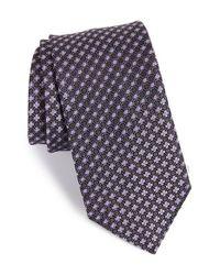 John W. Nordstrom Black 'bambino' Geometric Silk Tie for men