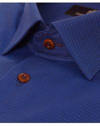 Circle Of Gentlemen Black Grover Fleck Shirt for men