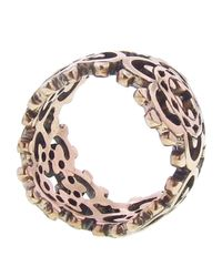 Laurent Gandini - Pink Scalloped Ring - Lyst