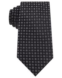 Michael Kors | Black Michael Winsome Neat Tie for Men | Lyst
