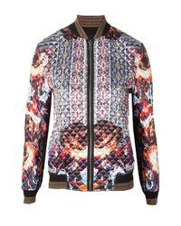 Clover Canyon Multicolor Irish Box Quilted Jacket