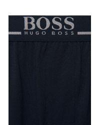 BOSS Blue Shorts In Stretch Modal: 'short Pant Ew' for men