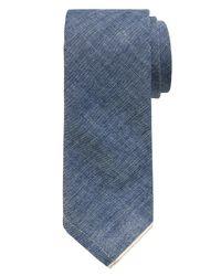 Banana Republic | Blue Selvedge Tie for Men | Lyst