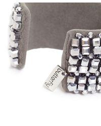 Butterfly | Metallic Glacier Cuff Bracelet | Lyst