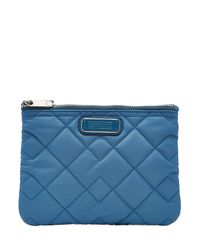 Marc By Marc Jacobs | Double Zip Quilted Cosmetic Bag - Blue | Lyst