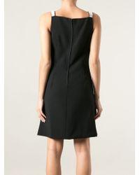 Dolce & Gabbana Black Crystal Studded Bow Dress