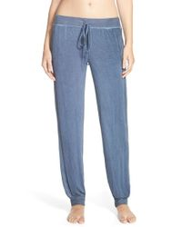 Daniel Buchler | Blue Washed Out Lounge Pants | Lyst