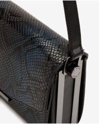 Ted Baker | Blue Snake Print Cross Body Bag | Lyst