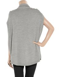 Alice By Temperley Gray Grey Marie Cape
