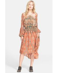 Free People - Multicolor 'Pink City' Maxi Dress - Lyst