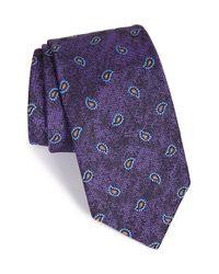 Robert Talbott | Purple Paisley Silk Tie for Men | Lyst