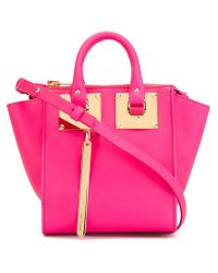 Sophie Hulme - Pink Small 'holmes North South' Crossbody Bag - Lyst
