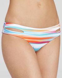 L*Space Multicolor L*Space Positano Dolly Straight Fringe Bikini Top