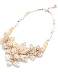 Nakamol | Multicolor Coralbell Necklace-cream | Lyst