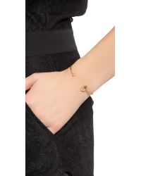 Tai - Metallic Hexagon Bracelet - Montana/gold - Lyst