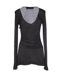 Elisabetta Franchi - Gray T-shirt for Men - Lyst