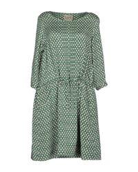 Sea Green Short Dress