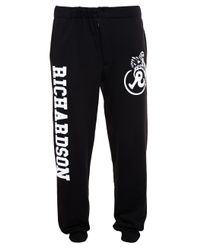 Rosie Assoulin | Black Printed Sweatpants | Lyst