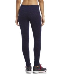 90 Degree By Reflex - Blue Space-Dye Performance Leggings - Lyst