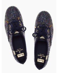 kate spade new york - Black Keds For Glitter Sneakers - Lyst