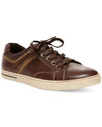 Steve Madden | Brown Madden Drill Low-rise Sneakers for Men | Lyst