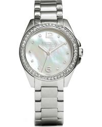 COACH - Metallic Mother Of Pearl Watch 14501656 - Lyst