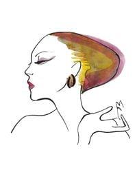 Rarities - Metallic Gold Porcelain Earrings - Lyst