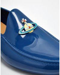 Vivienne Westwood - Blue Orb Loafers for Men - Lyst