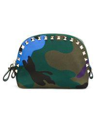 Valentino - Multicolor 'rockstud' Make Up Bag - Lyst