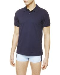 La Perla | Blue Polo Shirt for Men | Lyst