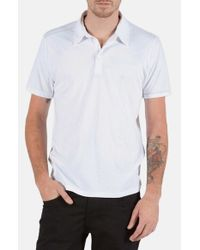 Volcom | White 'wowzer' Jersey Polo for Men | Lyst