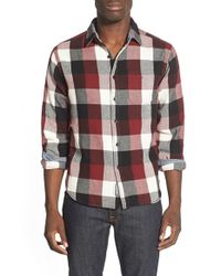 Eddie Bauer | Black 'woodhacker - Ilaria Urbinati Collection' Trim Fit Flannel Sport Shirt for Men | Lyst