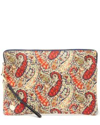 Mi-Pac Multicolor Bourton Print Large Clutch Bag