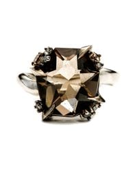 Alexis Bittar - Metallic Smoky Gold Marquis Fancy Cut Ring You Might Also Like - Lyst