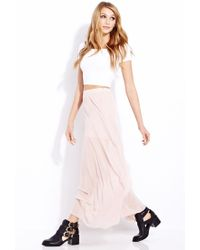 Forever 21 | Pink Must-Have M-Slit Maxi Skirt | Lyst